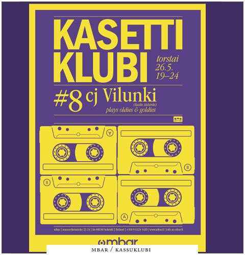 kasetti-klubi-flyer